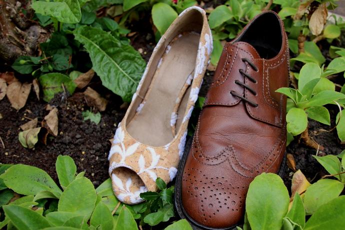 Chaussures de mariage véganes