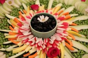 mandale de légumes mariage végane