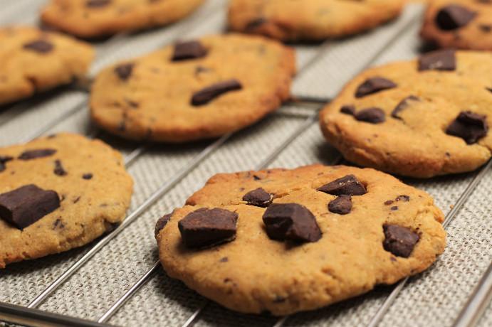 Les cookies de Lalou véganes et sains