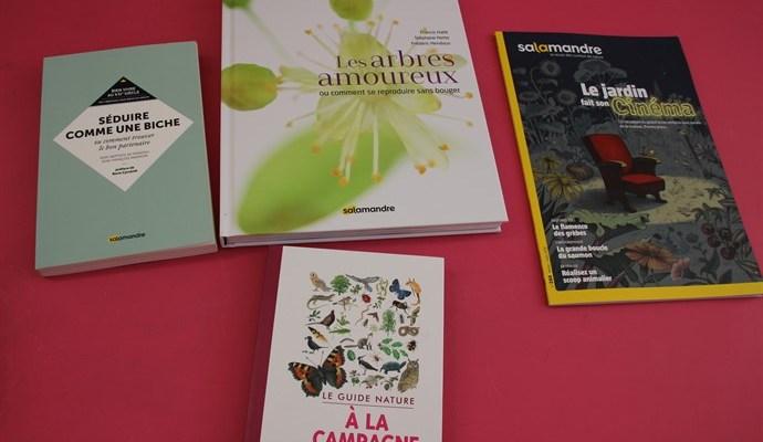 4 ouvrages pour les fans de nature