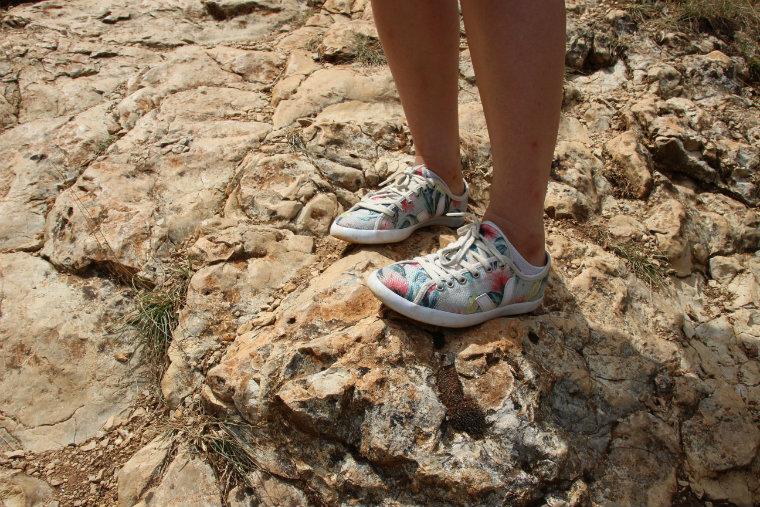 Randonnée avec les chaussures véganes Veja