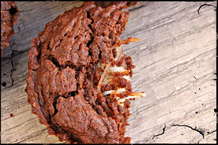 Muffins chocolat et coco pour halloween