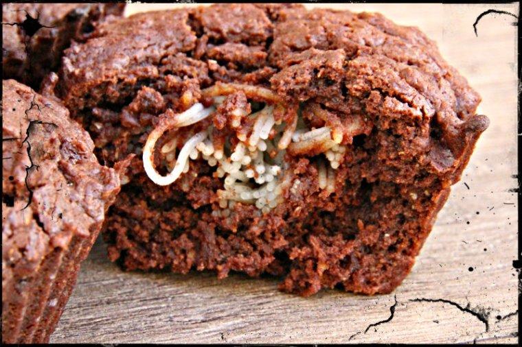 muffins d'halloween végétaliens