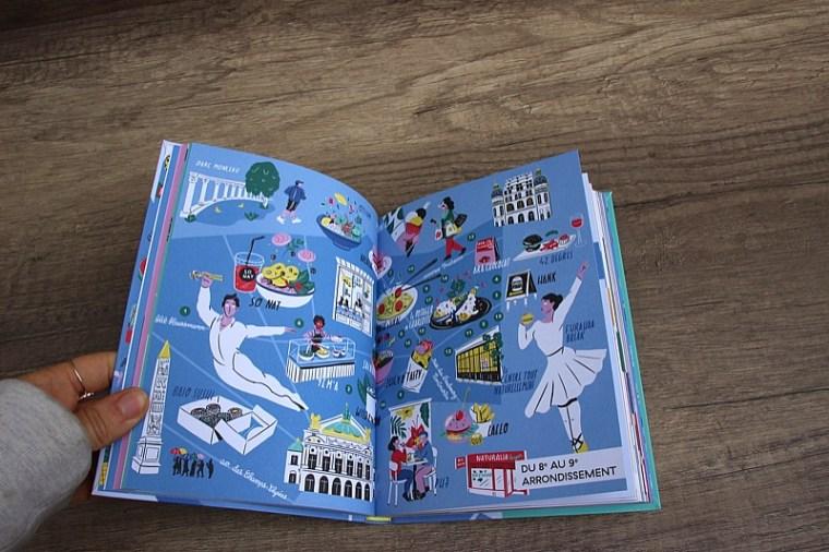 Illustrations du guide du Paris vegan