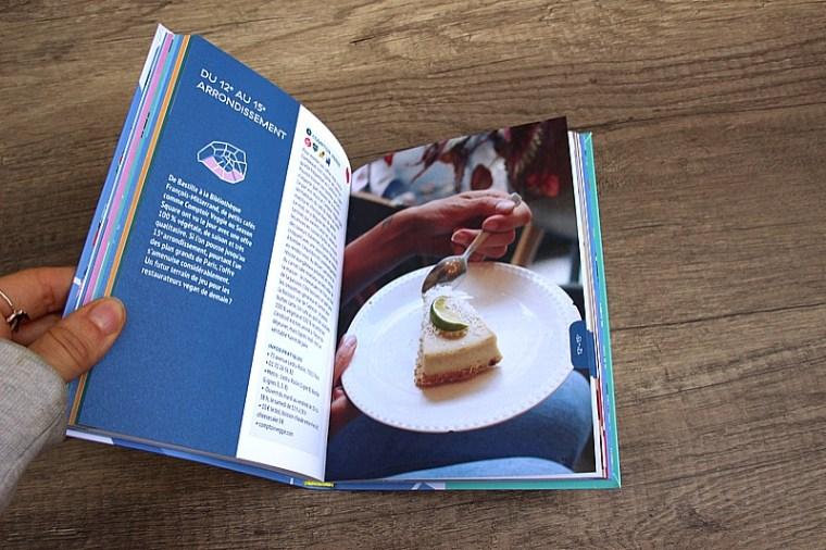 Pages interieures du guide du paris vegan