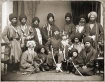 Sher Ali Khan and company, Afghanistan, 1869
