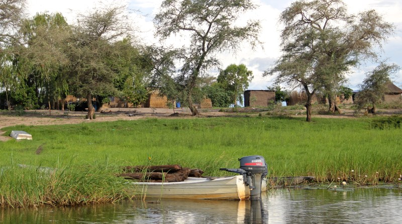 Visiting a Village on the Namibian Side of the Chobe River