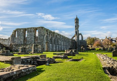 St Andrews Cathedral, Once The Most Magnificent Church in Scotland