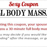 Sexy Coupon Sample