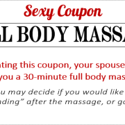 Sexy Coupon Sample