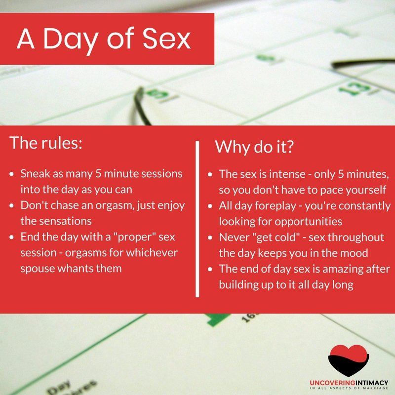 Fun sex rules
