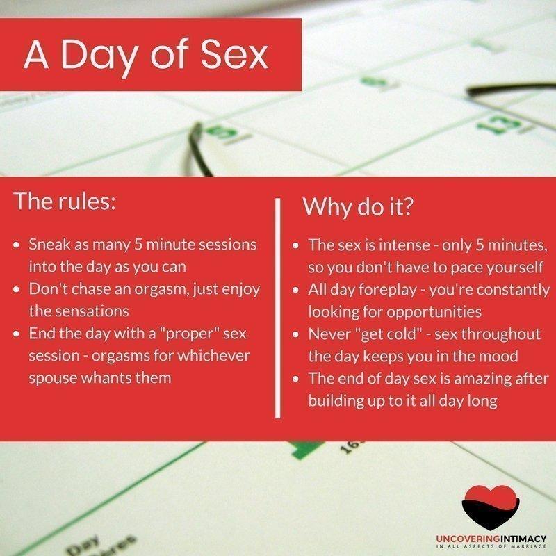 Fun sex rules
