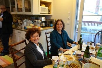 Elizabeth, who I grew up calling aunt, and Marsha (Eldad's wife)