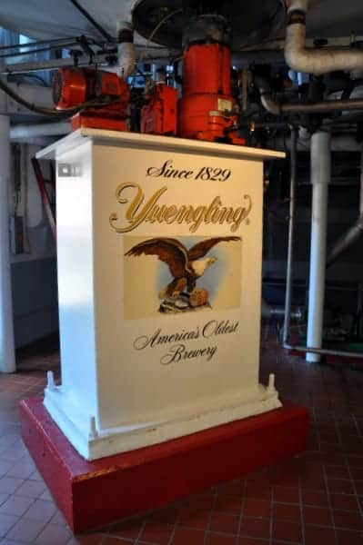 Yuengling Brewery in Pottsville, PA.