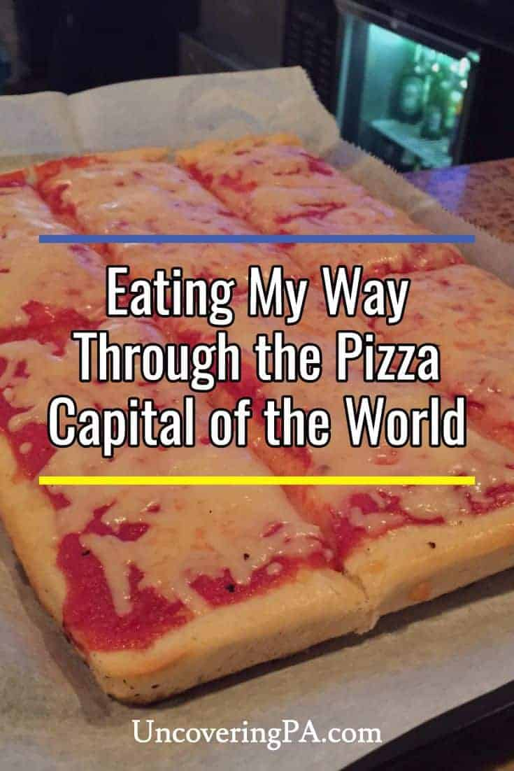 Eating my way through the Pizza Capital of the World: Old Forge, Pennsylvania