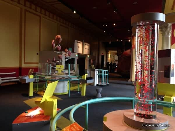 The Franklin Institute is a perfect thing to do in Philadelphia with kids