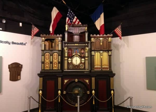The beautiful Engle Clock is the centerpiece of the fantastic National Watch and Clock Museum.