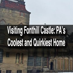 Visiting Fonthill Castle in Doylestown, Pennsylvania