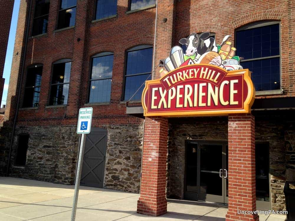Visiting the Turkey Hill Experience in Columbia, Pennsylvania.