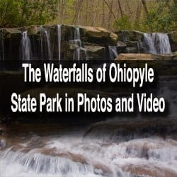 waterfalls in ohiopyle state park