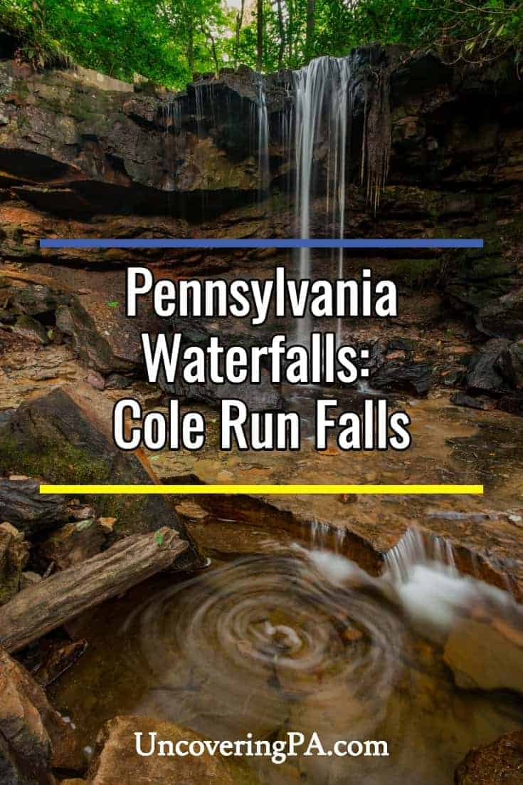 Pennsylvania Waterfalls: Visiting Cole Run Falls and the Barronvale Covered Bridge