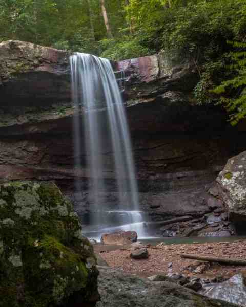 How to get to Cucumber Falls in Ohiopyle State Park.