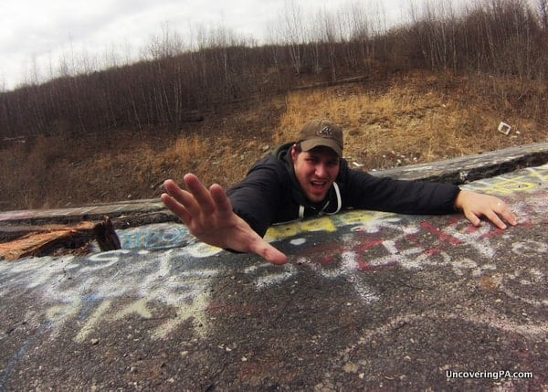 The action movie feel of the Graffiti Highway can make for some great photos.