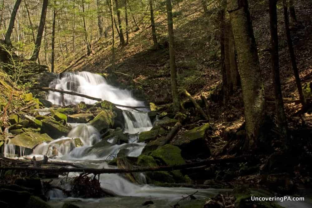 Pennsylvania Waterfalls: Visiting Miller Falls in Oil Creek State Park