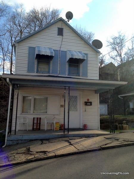Stan Musial was born in this home on 6th Street in Donora, Pennsylvania.