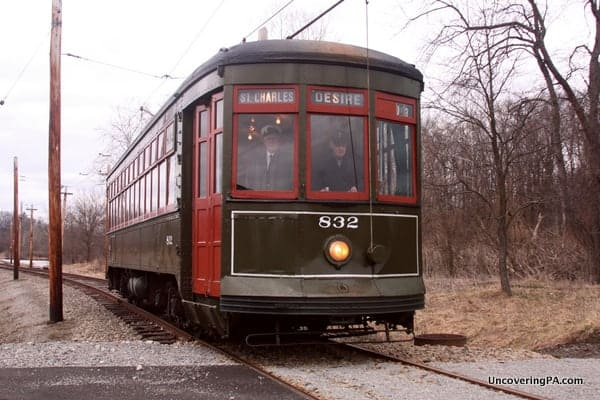 Things to do in Pennsylvania in April 2017: Bunny Trolley at the PA Trolley Museum