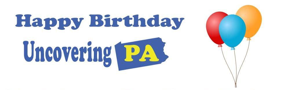 Happy birthday, UncoveringPA!