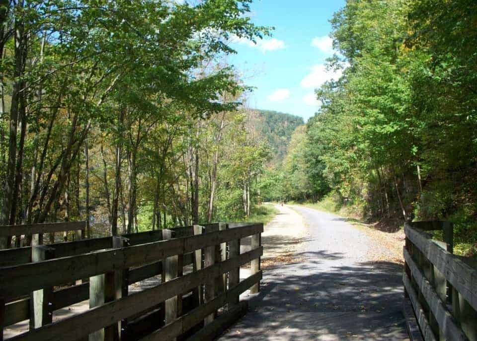 Uncoveringpa 5 Great Pennsylvania Rail Trails Bike Trips For The