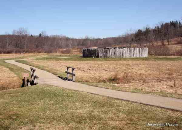 Fort Necessity Battlefield on the National Road