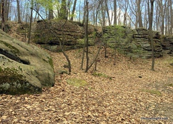 How to Get to Jumonville Glen, Fort Necessity National Battlefield.