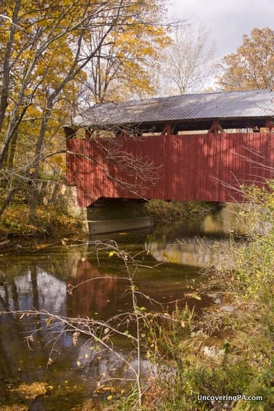 Aline Covered Bridge is my favorite of the covered bridges in Snyder County.