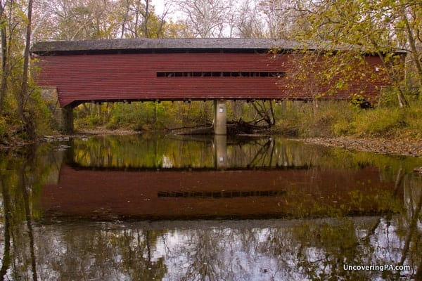 Another view of Sheeder-Hall Covered Bridge.