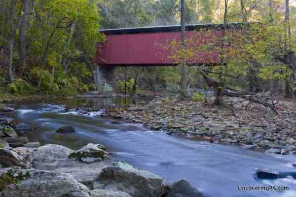 Free things to do in Philly: Visit Thomas Mill Covered Bridge