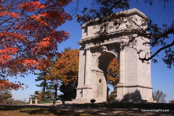 The National Memorial Arch is the largest memorial at Valley Forge and is definitely worth seeing.