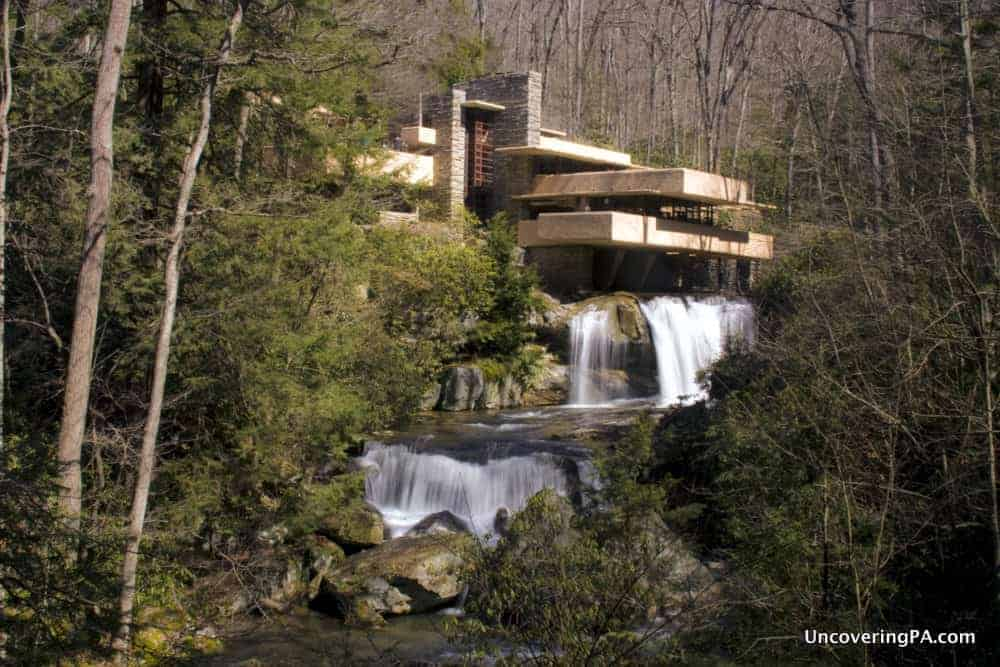 Visiting Fallingwater in PA