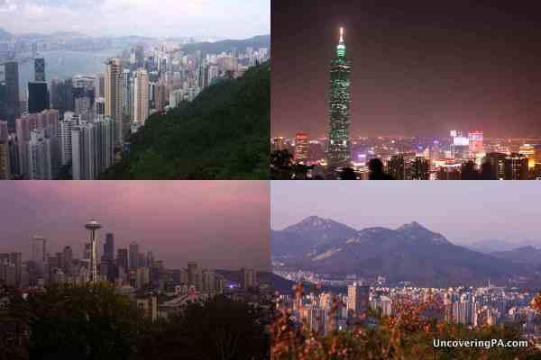 Best urban vistas in the world