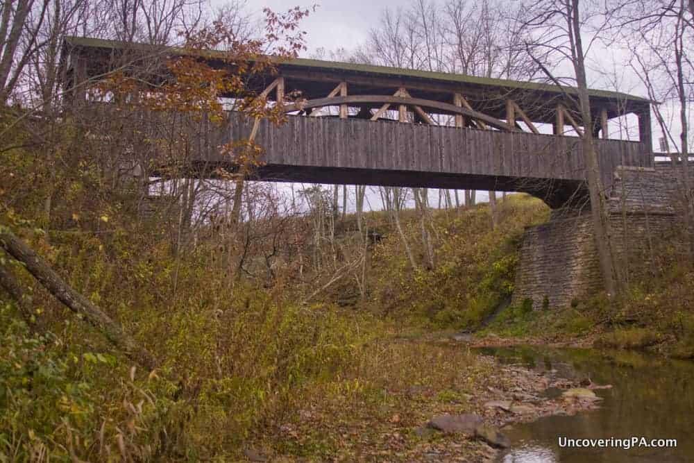 Knapp Covered Bridge in Bradford County, Pennsylvania