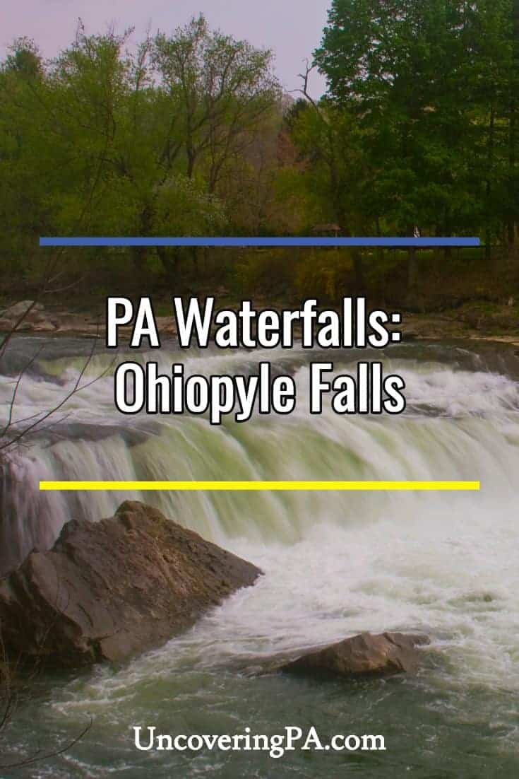 Pennsylvania Waterfalls: The History of Ohiopyle Falls along the Youghiogheny River