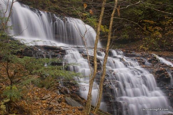 Mohawk Falls in Ricketts Glen State Park