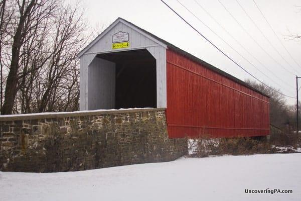 Mood's Covered Bridge in Perkasie, Pennsylvania