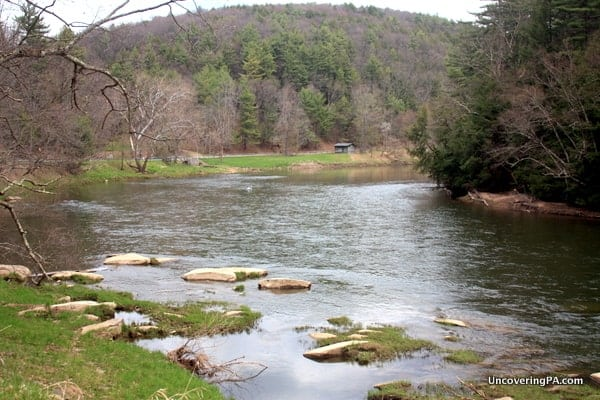 The Clarion River in Cook Forest State Park in Pennsylvania