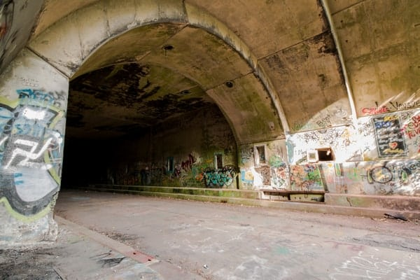 Ray's Hill Tunnel on the Abandoned PA Turnpike