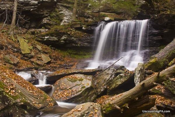 B. Reynolds Fall in Glen Leigh at Ricketts Glen State Park in Pennsylvania