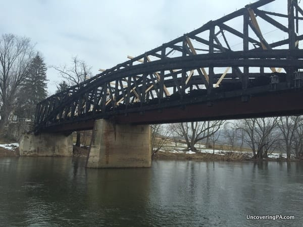 Dellville Covered Bridge near Duncannon, PA