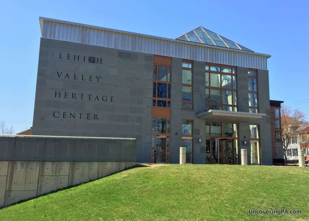 Visiting the Lehigh Valley Heritage Center in Allentown, PA