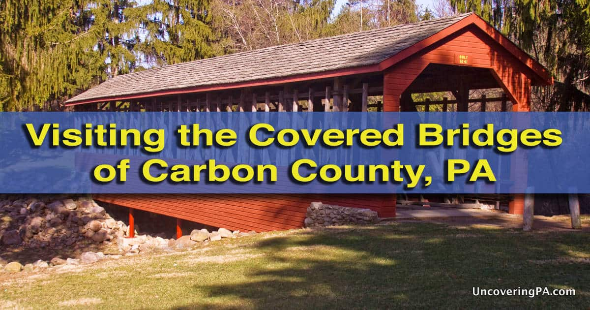 How to get to the covered bridges of carbon county, pa